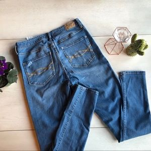Abercrombie & Fitch super high waist skinny jeans